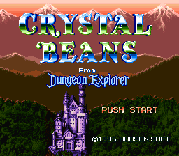 Crystal Beans: From Dungeon Explorer