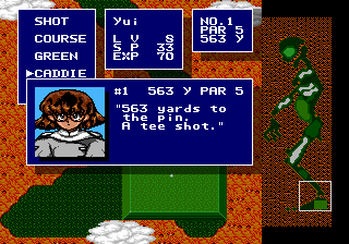 Battle Golfer Yui