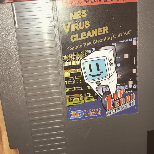 NES Virus Cleaner