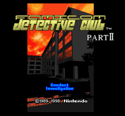Famicom Detective Club Part II