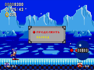 "Хак ""Sonic Winter Adventures"" [SMD]"