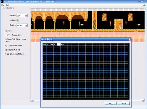Prince of Persia Level editor v1.0