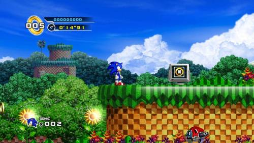 Sonic The Hedgehog 4 на Xbox 360