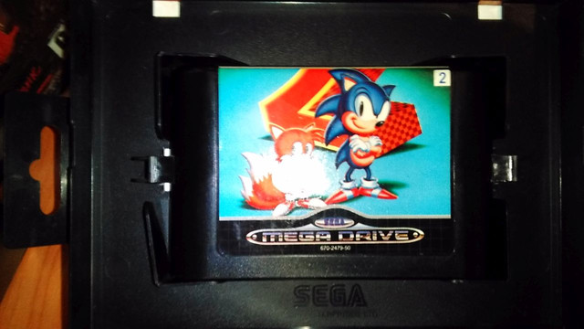 Sonic the Hedgehog 2 - SMD