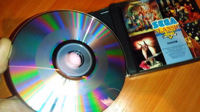 CD Mega Drive Japan import