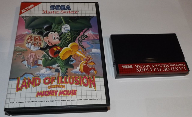 Land Of Illusion Starring Mickey Mouse [SMS]