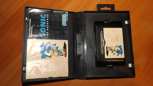 Sonic the Hedgehog – MegaDrive