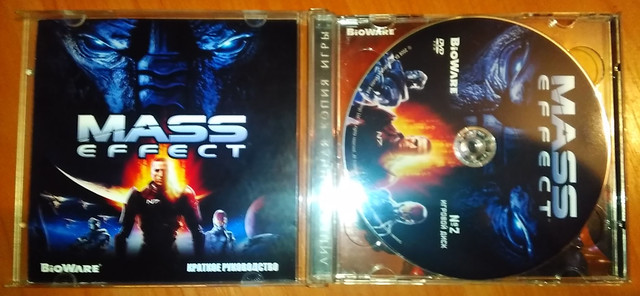 Диск «Mass Effect» PC Windows