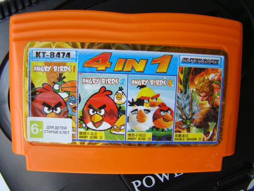 4 in 1 «Angry Birds»