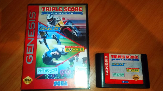Triple Score: 3 Games In One на Sega Genesis